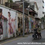 Fassadenkunst in Ipoh