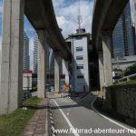 Wege für Zweiräder in Kuala Lumpur
