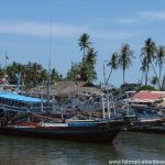Küstendörfer auf Sumatra