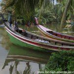 Boote auf Sumatra