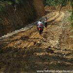 Schlammpiste auf Sumatra