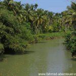Fluss auf Sumatra