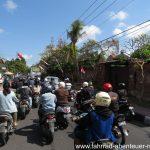 Verkehr vor Denpasar