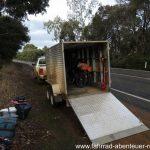Trampen in Australien