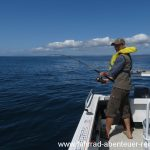 Fischen auf hoher See