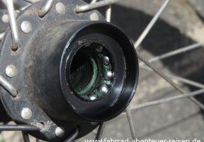 Fahrrad Nabenlager – Laufrad Wartung an Kugellager, Freilauf und Kassette