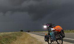 Radfahren bei Regen