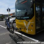 Neuseeland: Bike-Transport im Busverkehr