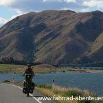 vor Kurow - Radreisen in Neuseeland