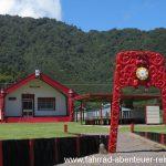 ein Wharenui der Maori