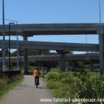 Radweg in Auckland