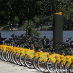Leih-Fahrräder