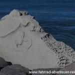 Erosion an der Küste