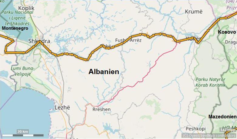 Albanien-Nord