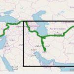 Iran Weltkarte