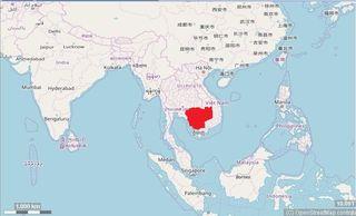 Kambodscha Karte.Reiseinfos Kambodscha Landerinfos Fur Urlaub Und