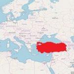 Türkei Karte