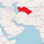 Turkmenistan Karte