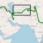 Turkmenistan Weltkarte