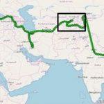 Usbekistan Weltkarte
