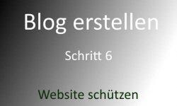 Website schützen