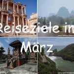 Reiseziele im März