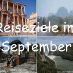 Reiseziele im September