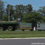 Roadtrain in Argentinien