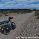 Schotterpiste in Patagonien - Radreisen in Argentinien