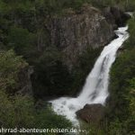 Sieben Seen Route - Wasserfall