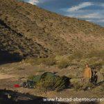 Zeltplatz in der Steinwüste