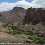 Rio Pinturas in Patagonien