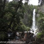 Wasserfall vor El Bolson
