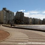 Die Rambla in Montevideo
