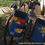 Fahrrad Packtaschen in Südamerika