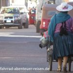 Cholita in Bolivien