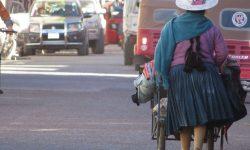 Cholita in Bolivien