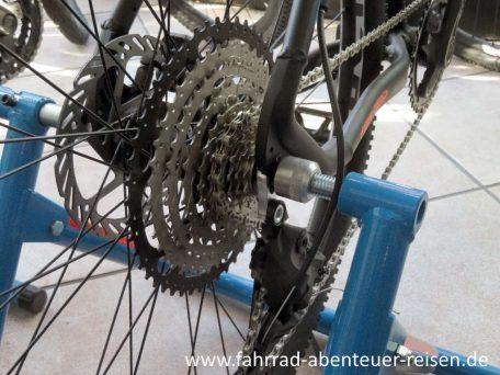 Fahrrad Kettenschaltung Pflege Einstellung Wartung Reparatur