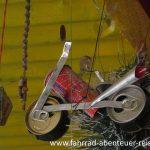 Motorroller aus Bierdosen