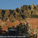 Anfahrt - Valle de las Animas