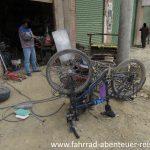 Fahrradrahmen schweißen