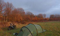Zeltplatzsuche auf Reisen