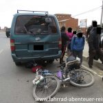 Unfall in Bolivien