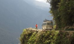 Yungas Road in Bolivien