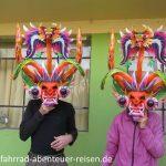 Masken in Peru
