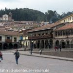 Am Plaza de Armas in Cusco in Peru