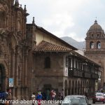 Basilica Menor de la Merced Cusco in Peru