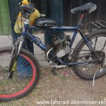 Fahrrad mit Verbrennungsmotor