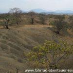 Hügellandschaft in Ecuador