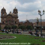 Iglesia de la Compania de Jesus Cusco in Peru